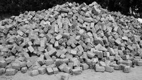 Pila di pietra Fotografie Stock Libere da Diritti