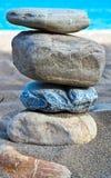 Pila di pietre Fotografia Stock Libera da Diritti