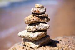 Pila di pietre Immagini Stock Libere da Diritti