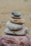 Pila di pietre Fotografie Stock