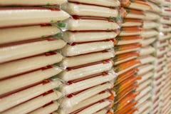 Pila di riso fotografie stock