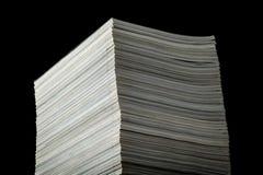 Pila di riviste Immagini Stock
