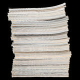 Pila di riviste Fotografia Stock