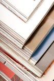 Pila di scomparti Fotografia Stock