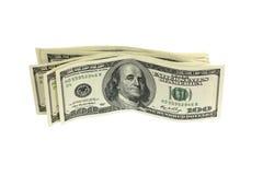 Pila di soldi Immagini Stock Libere da Diritti
