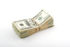 Pila di soldi Fotografia Stock