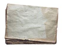 Pila di vecchi documenti Fotografie Stock