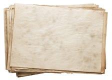 Pila di vecchi documenti Fotografia Stock