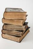 Pila di vecchi libri Immagini Stock