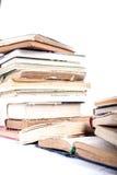 Pila di vecchi libri Fotografia Stock