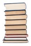 Pila di vecchi libri Fotografie Stock