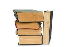 Pila di vecchi libri Immagine Stock Libera da Diritti
