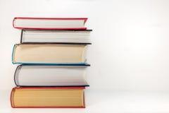 Pila di vecchi libri Immagine Stock