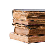 Pila di vecchi libri Immagini Stock Libere da Diritti
