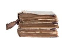 Pila di vecchi libri antichi Immagini Stock Libere da Diritti