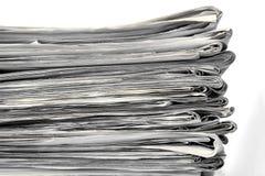 Pila di vecchio giornale Fotografia Stock Libera da Diritti