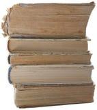 Pila di vecchio libro Fotografia Stock