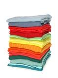 Pila di vestiti Fotografia Stock