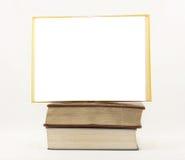 Pila en blanco del libro Imagen de archivo libre de regalías