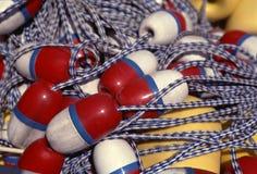 Pila en la boya Foto de archivo libre de regalías