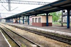 Pila Głowna railway station in poland Stock Image