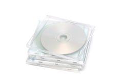 Pila I de la caja de joya CD Imagen de archivo libre de regalías