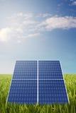 Pila solare Fotografie Stock