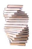 Pila a spirale di libri Fotografie Stock