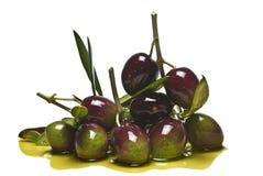 Pila verde oliva Foto de archivo libre de regalías