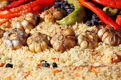 pilaf παραδοσιακός Στοκ φωτογραφία με δικαίωμα ελεύθερης χρήσης