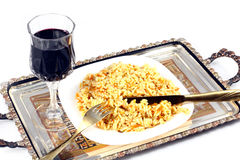 Pilaf Royalty Free Stock Photography