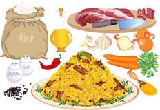 Pilaf Stock Photos