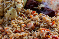 Pilaf ! Asian cuisine Royalty Free Stock Photography