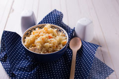 Pilaf in bowl Royalty Free Stock Photography