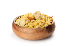 Pilaf with chicken Royalty Free Stock Photography