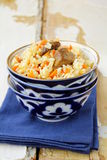Pilaf - classic Asian dish Royalty Free Stock Images