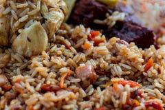 ¡Pilaf! Cocina asiática Fotografía de archivo libre de regalías
