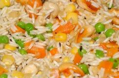 Pilaf del arroz Foto de archivo libre de regalías