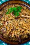 Pilaf - recette roumaine Image libre de droits