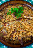 Pilaf - Romanian recipe Royalty Free Stock Image