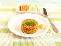 Pilaf sain de quinoa de nourriture Images libres de droits
