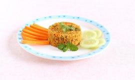 Pilaf sano della quinoa dell'alimento Fotografia Stock