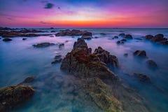 Пляж Pilai стоковое изображение rf