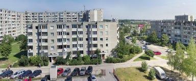 Pilaite area of Lithuanian capital Stock Photo