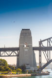 Pilar моста гавани Сиднея Стоковая Фотография