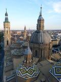 Pilar собор стоковая фотография rf