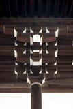 Pilar adornado en el edificio Fotos de archivo