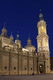 The Pilar basilica Royalty Free Stock Images