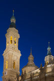 The Pilar basilica Royalty Free Stock Image