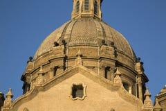 Pilar Basilica Cathedral Church; Saragossa Stock Images
